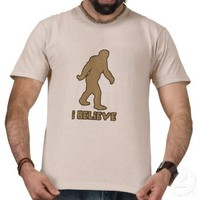 I Believe in Bigfoot Tshirt from Zazzle.com