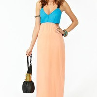 Block Party Maxi Dress