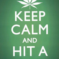 Keep Calm and Hit a Bong Pot Marijuana Art Poster Print Print at AllPosters.com