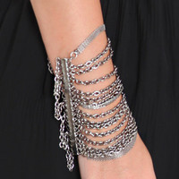 Xerxes Chain Bracelet - &amp;#36;24.00 : ThreadSence.com, Your Spot For Indie Clothing &amp; Indie Urban Culture