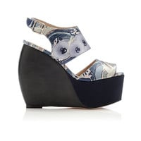 Loeffler Randall - SHOP - LR x SUNO Estrella platform wedge