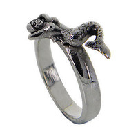 Sterling Silver Sea Angel Ring