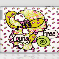 Wild Young and Free Laptop & iPad Skin by Ingrid Padilla  | Society6