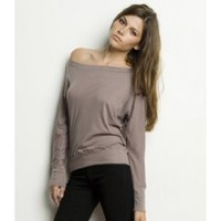 Bella Lightweight Relaxed Long Sleeve Dolman Top