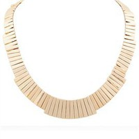 Belle Noel Gold Bar Necklace