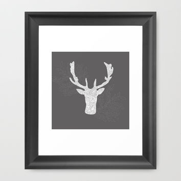antilope, deep Framed Art Print by Narais