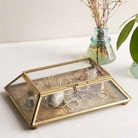 Magical Thinking Etched Medallion Box- Bronze One