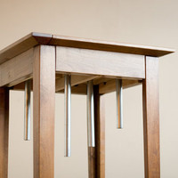 Side Table with musical chimes.