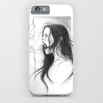 Pain into anger iPhone & iPod Case by EDrawings38