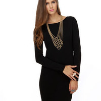 Cute Black Dress - $29.00