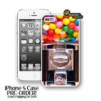 iPhone 5 Case, Bubblegum Machine iPhone 5 Case Hard Fitted iPhone 5 Case, iPhone 5 Hard Case