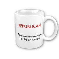 REPUBLICAN coffee mug from Zazzle.com