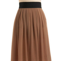 Hot Caramel Skirt | Mod Retro Vintage Skirts | ModCloth.com