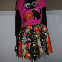 Halloween Scrap Toddler Tutu