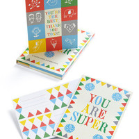 You Are Super Stationery Set | Mod Retro Vintage Stationery | ModCloth.com