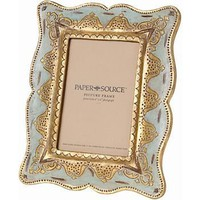 Aqua Flea Market Picture Frame -  4