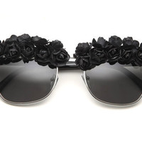 Black Rose Sunglasses