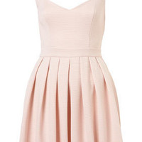 Heart Back Rib Prom Dress - Dresses  - Clothing