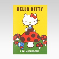 shop.sanrio.com - Hello Kitty Notebook: Mushroom