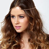 Gorgeous Gold Headpiece - Chain Headpiece