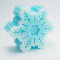 Snowflake Soap - Sweet Icicles scent