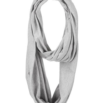 Solid Jersey Infinity Scarf