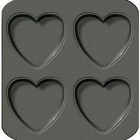 2 Layer Heart Cake Pan-4 Cavity, Wilton - Barnes & Noble