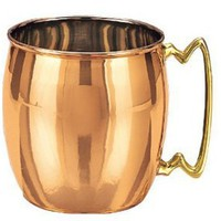 Old Dutch International Moscow Mule 16-Ounce Copper Mug: Kitchen & Dining