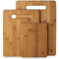 Totally Bamboo 20-7930 3-Piece Cutting Board Set: Kitchen &amp; Dining