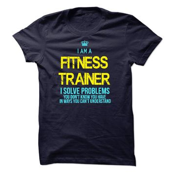 I am a Fitness Trainern
