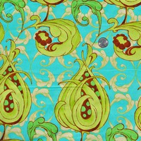 Free Spirit Treetop Fancy by Tina Givens Avocado by cheekybanana