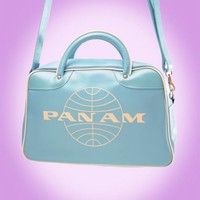 The Orion Bag from Pan Am in Baby Blue - Bags | Pinup Girl Clothing