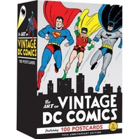 The Art of Vintage DC Comics: 75th Anniversary - Whimsical &amp; Unique Gift Ideas for the Coolest Gift Givers
