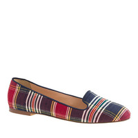 J.Crew Womens Sophie Plaid Loafers