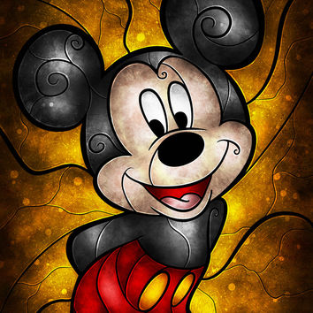 Mouse of the House Art Print by Mandie Manzano