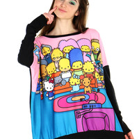 COUCH PARTY OVERSIZED PULLOVER - One