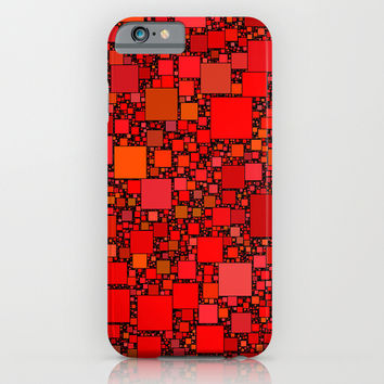 Post It Red iPhone & iPod Case by Alice Gosling