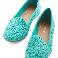 ModCloth Jump Bright In Flat