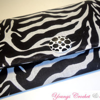 Black &amp; White Zebra Print Wallet -Ready to Ship