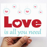 Love Is All You Need , Valentine&#x27;s .. on Luulla