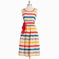summer festival striped dress