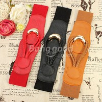 Stylish Ladies Women PU Leather Waist Belt Waistbelt 3 Colors Free Shipping!  - US$5.99