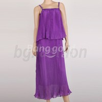 NWT Womens Party Evening Gown Long Dresses 4 COLORS Free Shipping!  - US$15.99