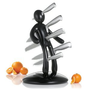 THE EX Kitchen Knife Set by Raffaele Iannello,Black: Amazon.com: Kitchen & Dining