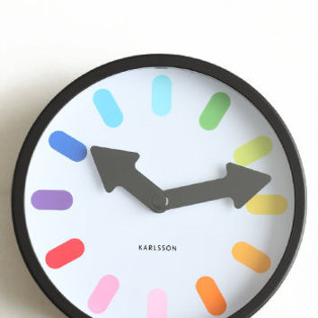 Mini Pictogram Alarm Clock - $28.00: ThreadSence, Women's Indie & Bohemian Clothing, Dresses, & Accessories
