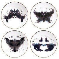 Luna &amp; Curious; Ink Blot Plates