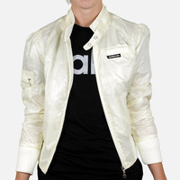 Members Only: Cire Bomber Jacket Ivory, at 44% off!