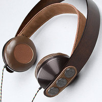 The Exodus Headphone with Mic in Brown
