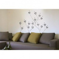 ADZif Spot Bouquet Wall Decal in Warm Grey - S2506-R751 - All Wall Art - Wall Art & Coverings - Decor