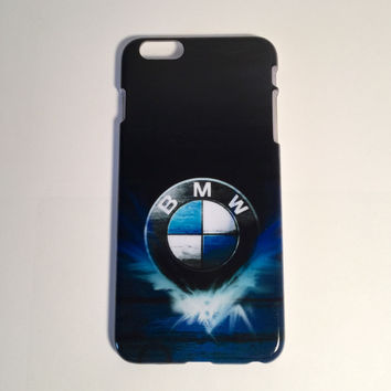 BMW logo blue phone case for the iPhone 6 plus - BMW logo blue phone case for the iPhone 6 plus